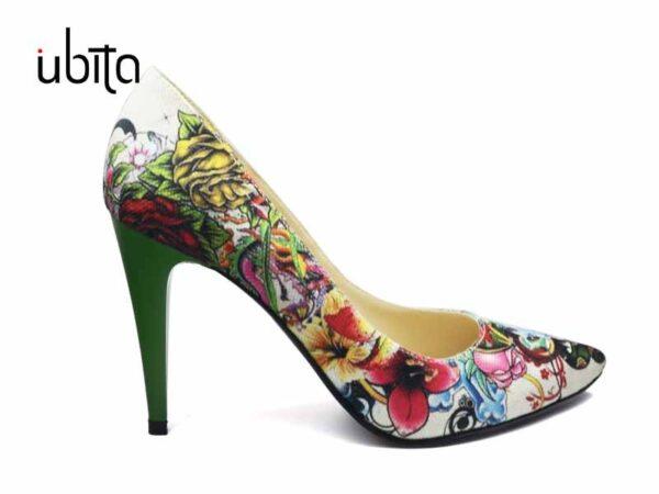 Pantofi casual dama colorati la comanda FFC0015-Hallie